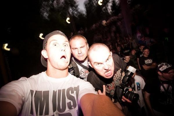 od lewej: Mieszko, Leniu, Kamil