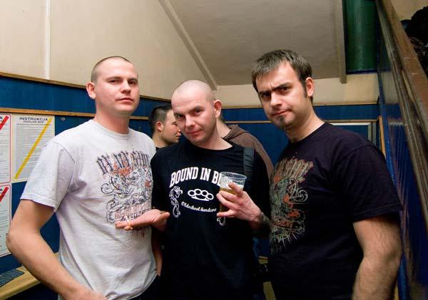 od lewej: Leniu, Kamil, cHeli